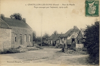 Carte postale Chatillon les sons
