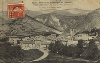 Carte postale Thorame basse