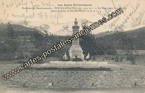 Carte postales anciennes Enchastrayes