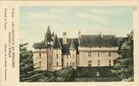 Carte postale Chateau l eveque