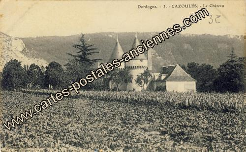 Carte postales anciennes Cazoules