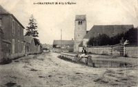 Carte postale Chatenay