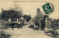 Carte postale Fontaine les ribouts