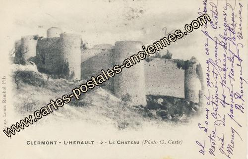 Carte postales anciennes Clermont l herault