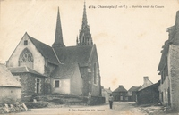 Carte postale Chantepie