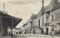 Carte postale Sainte maure de touraine
