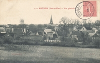 Carte postale Authon