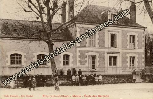 Carte postales anciennes Billy