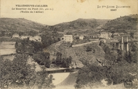 Carte postale Villeneuve d allier