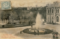 Carte postale Bourbon lancy