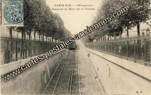 Cartes-Postales-Anciennes.com > France > Ile-de-France > Paris > Paris-19e > 75119_Boulevard-de ...
