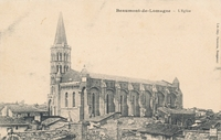 Carte postale Beaumont de lomagne