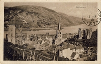 Carte postale Bacharach - Allemagne
