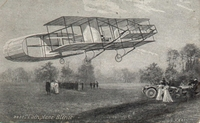 Carte postale Aeroplane-Bleriot - Aviation