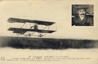 Carte postale Aviateur-Frey - Aviation