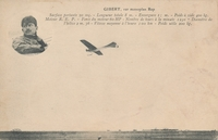 Carte postale Aviateur-Gibert - Aviation