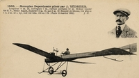 Carte postale Aviateur-J-Vedrines - Aviation