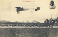 Carte postale Aviateur-Louis-Bleri - Aviation