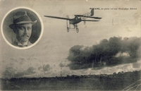 Carte postale Aviateur-Morane - Aviation