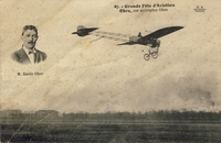 Carte postale Aviateur-Obre - Aviation