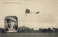 Carte postale Aviateur-Simon - Aviation