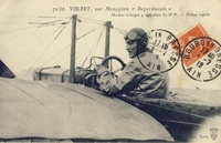 Carte postale Aviateur-Vidart - Aviation
