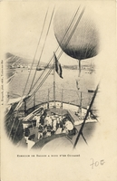 Carte postale Ballon - Aviation