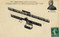 Carte postale Biplan-Bristol - Aviation