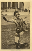 Carte postale Danseuse - Cambodge