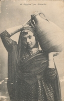 Carte postale Native-Girl - Egypte