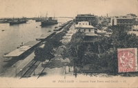 Carte postale Port-Said - Egypte