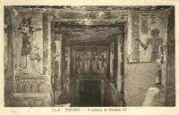 Carte postale Thebes - Egypte