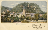 Carte postale Clausen - Luxembourg