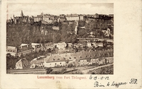 Carte postale Fort-Thungen - Luxembourg