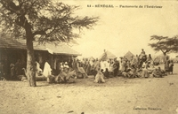 Carte postale Factorerie - Sénégal