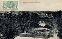 Carte postale St-Louis - Sénégal