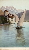 Carte postale Chillon - Suisse