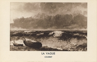 Carte postale La-Vague - Tableau