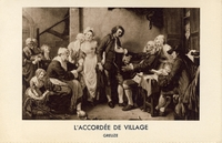 Carte postale l-Accordee-de-Villag - Tableau